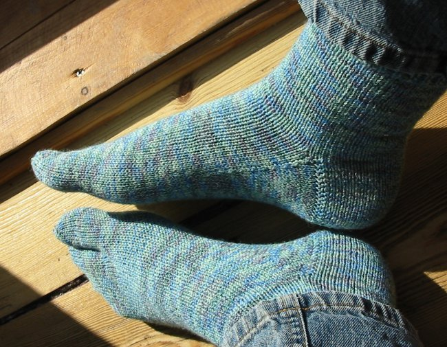 One-toe socks