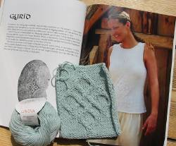 Gyrid sweater swatch