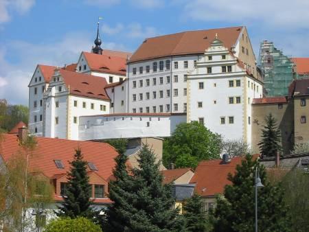 Schloss Colditz an der Mulde