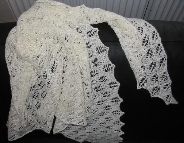 Small Birch Leaf Shawl