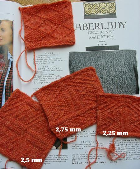 Swatches Aberlady sweater