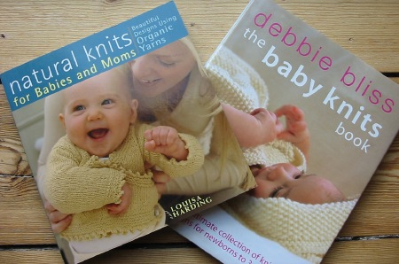 Baby Knits - two books