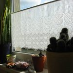 FO :: Rose Leaf Lace Curtain ::