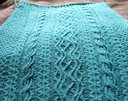Irish Moss Sweater - 1st Sleeve