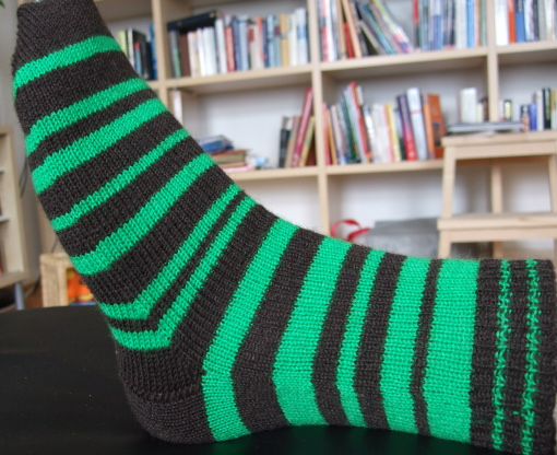 Pi Striped Sock