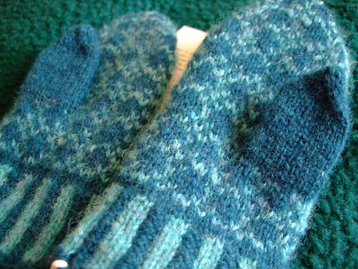 Baby Girl's First Fair Isle Mittens