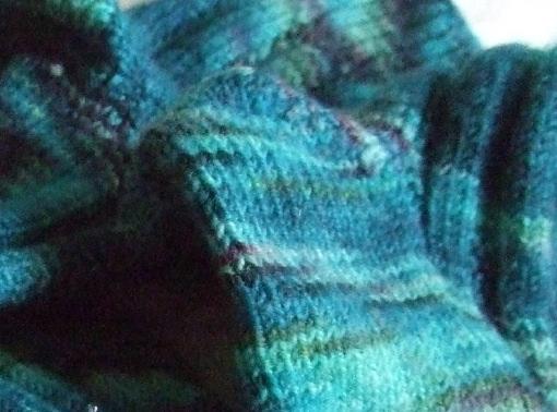 Colinette sock yarn - Not so easy to care for socks
