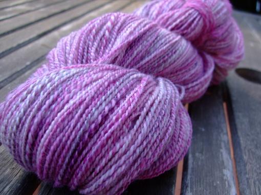 finished yarn after washing