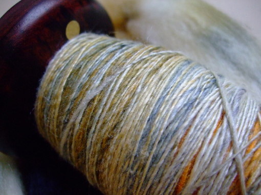 Spun on Spindlewood Flamewood spindle