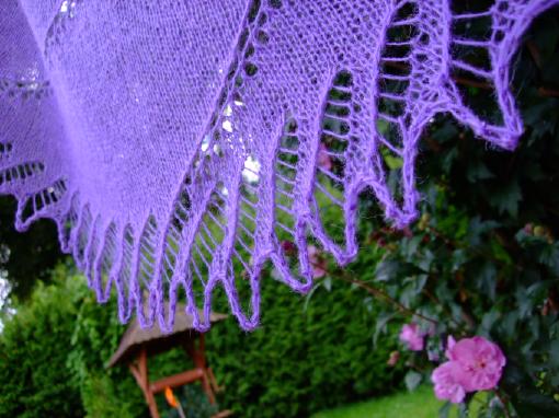 Spiral Shawl Lace edging