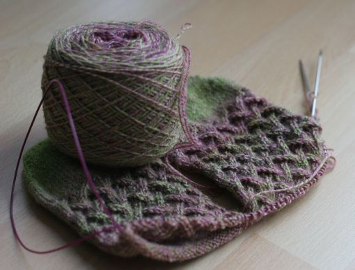 Time for some knitting and spinning