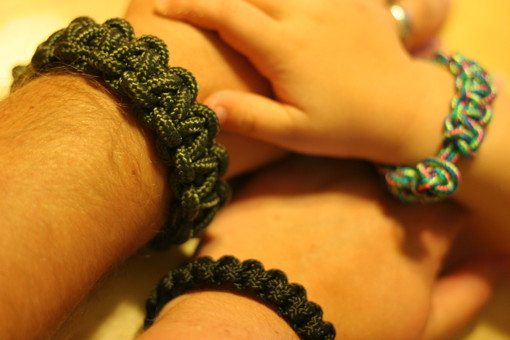 Bracelets in different widths and materials