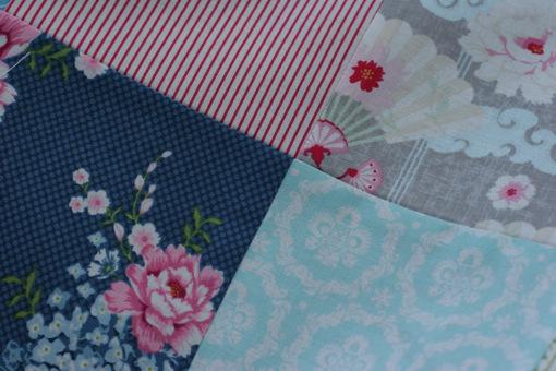 Tilda quilt matching seams