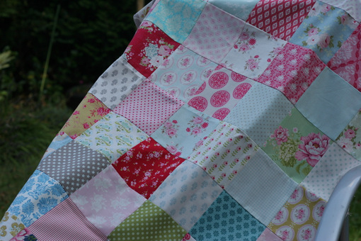 Tilda - Finished quilt top