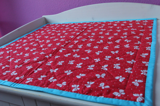 Baby quilt - backside