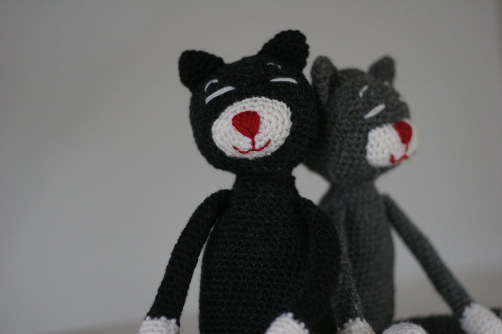 Amineko Crochet Cats
