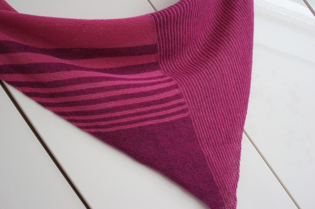 Cozy Pink Shawl