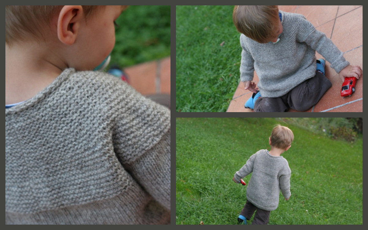 Micro Cobblestone Sweater