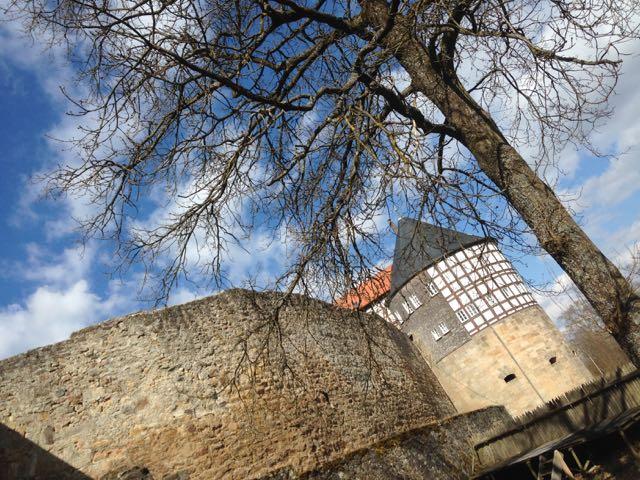 Castle Herzberg in Hesse
