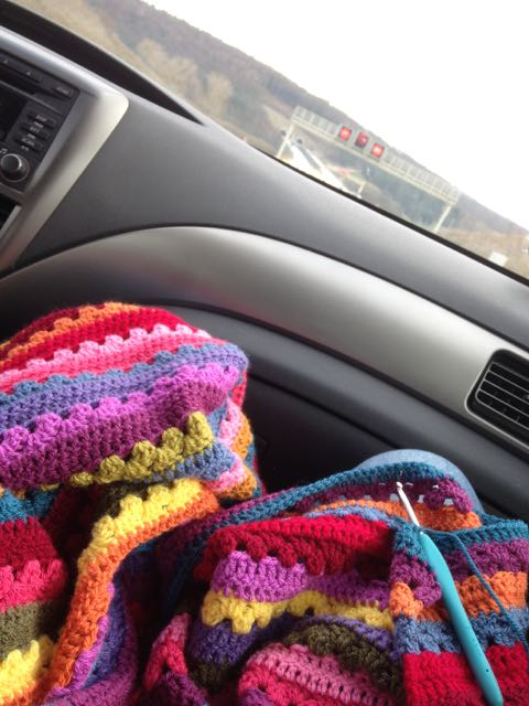 Crocheting Cozy Blanket