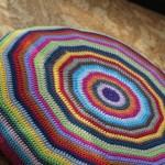 FO :: Crochet Circle Cushion ::