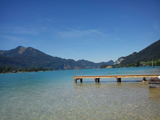 Wolfgangsee at its most spectacular