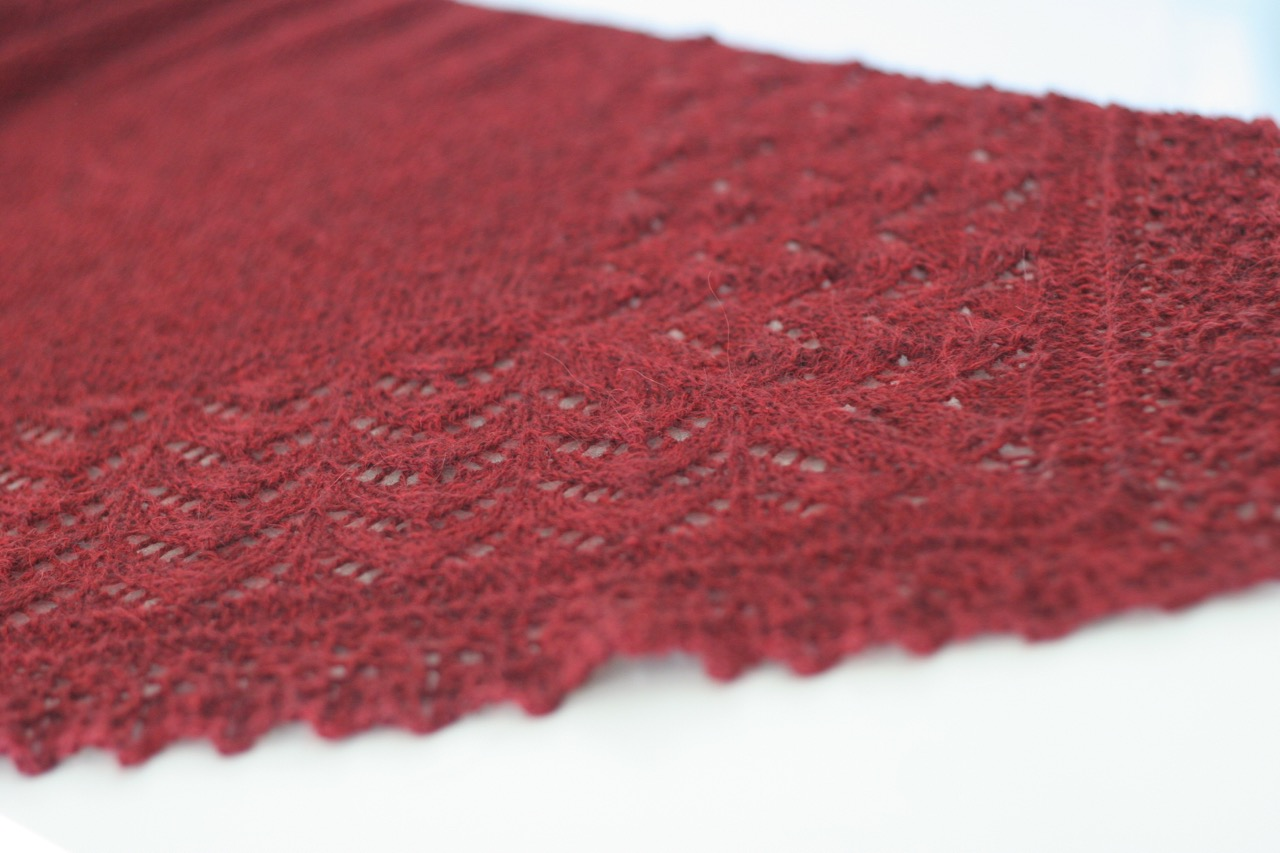 Bridgewater - triangular shawl