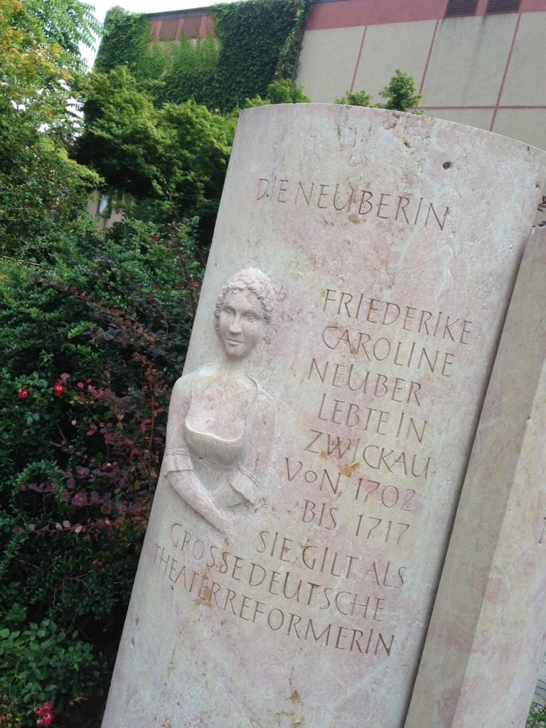Zwickau Memorial Caroline Neuber