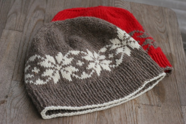 Snow Stars hat for kids and adults