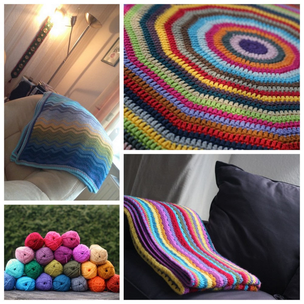 Some crochet projects 2015