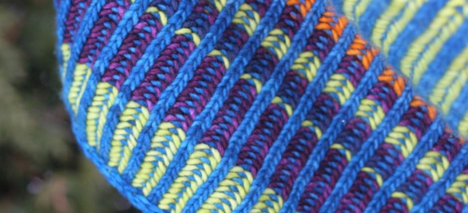 Askews Me Shawl - Brioche KnittingAskews Me Shawl - Brioche Knitting