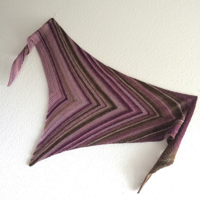 Arrow Lines Shawl