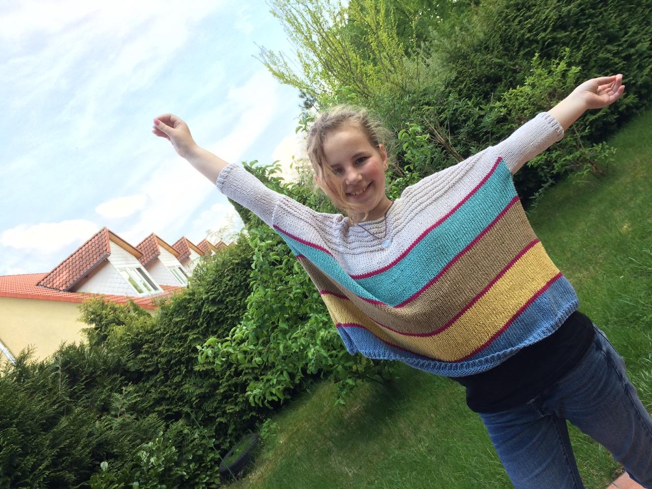 Boxy Pullover aus GGH Linova. Fertig!