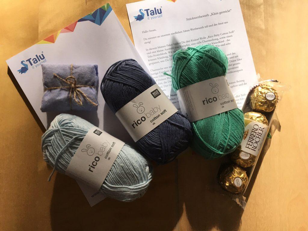 Talu Strickwettbewerb 2017 Materialpaket