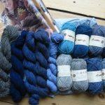 Shetland-Wolle zum Probieren