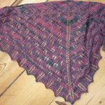 FO, WIP :: Fircone shawl and Schleuderblatt doily ::