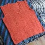FO :: Diamonds and Purls Vest ::