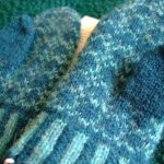Toasty hands and some knitting surgery