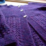 FO :: February Lady Sweater that got finished in March ::