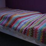 FO: Granny Stripe Blanket