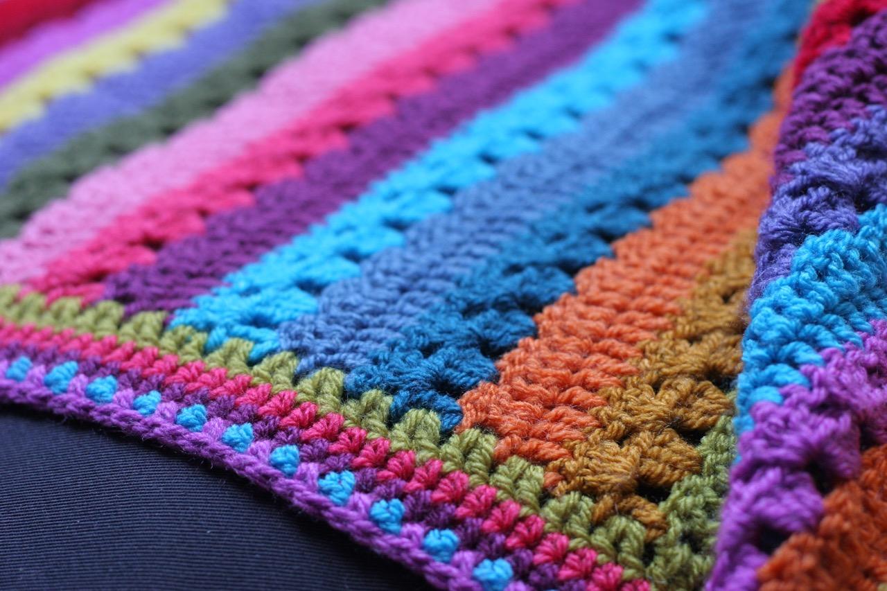 Cozy Blanket border detail