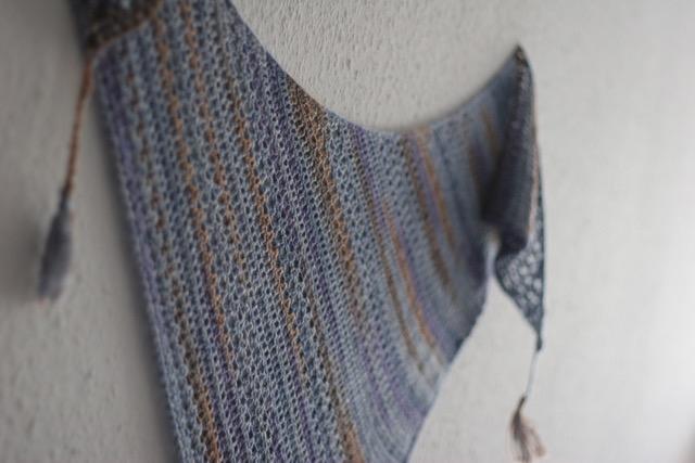 Sedimentary Crochet Shawl