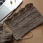 Tutorial :: Spitzenborte (an-)stricken ::